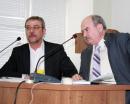 С.В.Гусев (слева) и А.Р.Смоляк